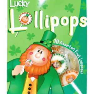 Lucky Leprechaun Lollipops