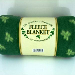 Irish Shamrock Fleece Blanket