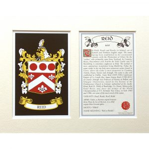 Heraldic Mounts Surnames