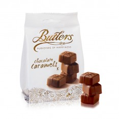 Butlers Chocolate Caramels Bag 125g