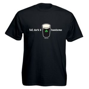 Black Tall Dark T-Shirt