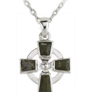 Celtic Cross Marble Pendant