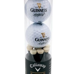 Guinness Callaway - Golf Ball & Tee Set