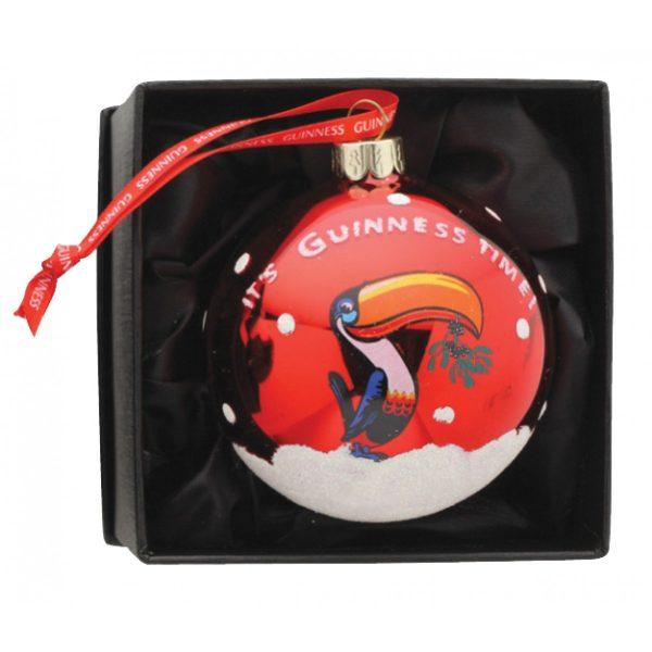 Guinness Christmas Toucan Bauble